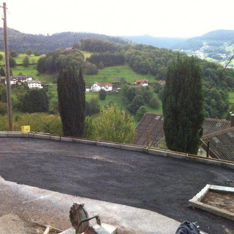 asphaltierarbeiten (4) | Bäuerle – Gartengestaltung & Außenanlagen GmbH